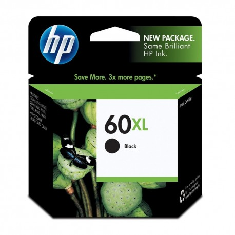 Cartucho HP 60 XL Negro