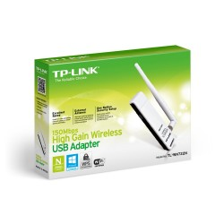 Placa de Red Wireless TP-LINK TL-WN722N USB 150MB