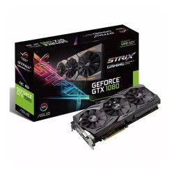Placa De Video Asus Gtx 1080 8gb Ddr5 Strix Gaming