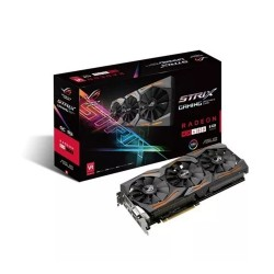 Placa De Video Asus Rx480 8gb Strix Gaming