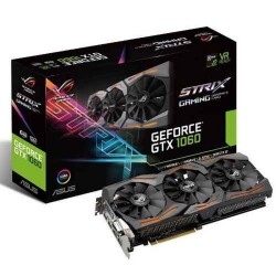Placa De Video Asus Gtx 1060 6gb Strix Ddr5