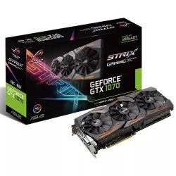 PLACA DE VIDEO ASUS GTX 1070 8GB STRIX GAMING