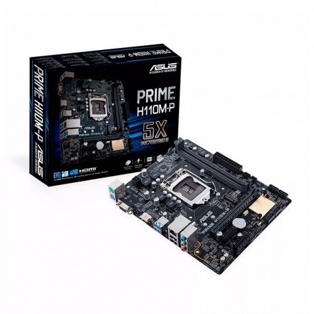 MOTHER ASUS H110M-P PRIME DDR4 HDMI DVI VGA