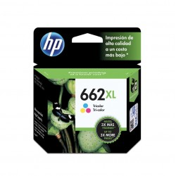 Cartucho HP 662 Color XL