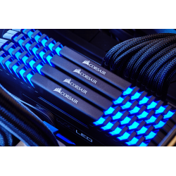 Memoria Ram Ddr4 16GB Corsair 2x8 2666 Mhz Blue Led Vengance