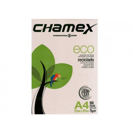 Resma A4 75Grs x 500 H eco Chamex