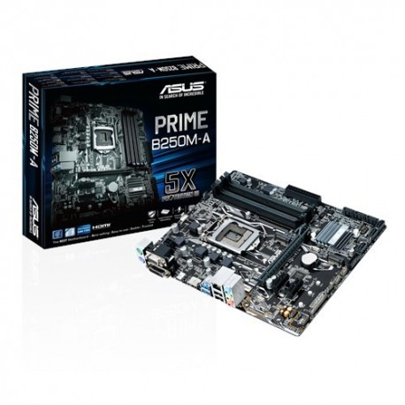 Mother Asus Prime S1151 B250M-A Box M.ATX