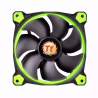 Cooler thermaltake 3 fan pack 12 cm led Green riing