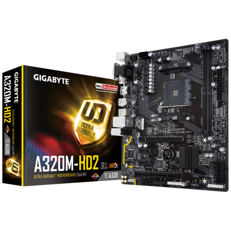 Motherboard Gigabyte a320m hd2 ryzen am4 ddr4