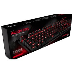 TECLADO MECANICO HYPERX GAMER ALLOY FPS CHERRY MX RED