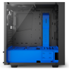 Gabinete Gamer Nzxt s340 Elite Mate Black y Blue
