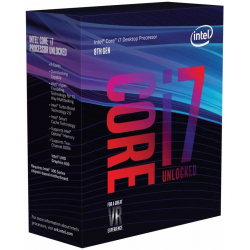 Microprocesador Intel Core i7 8700k Coffee Lake s1151 3.7Ghz 12mb Cache