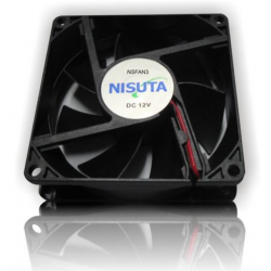 Cooler Fan Nisuta 80x80x25mm 3 Pines c/a Mother Ns-Fan3