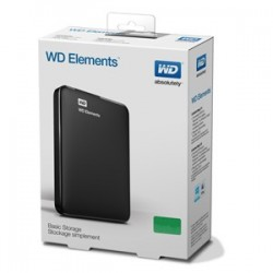 DISCO EXTERNO WD 1TB ELEMENTS USB 3.0 Y 2.0
