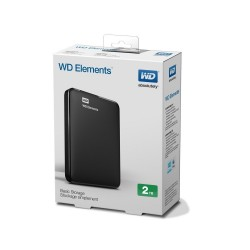 Disco Externo WD 2TB Elements USB 3.0 y  2.0