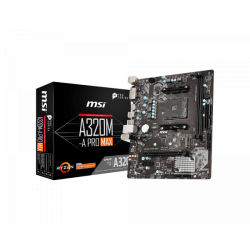 MOTHER MSI AM4 A320M PRO MAX BOX M-ATX