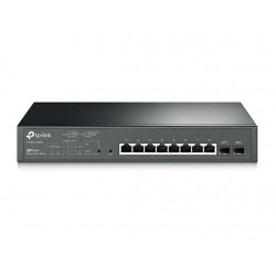 SWITCH 8P TP-LINK GIGABIT POE+ 2 SFP ADMIN T1500G 10MPS