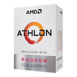 MICROPROCESADOR AMD ATHLON 3000G 2 CORE AM4 3.5Ghz 4MB 35W