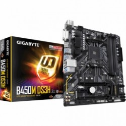 Motherboard (AM4) B450M DS3H GIGABYTE