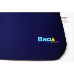 "FUNDA NOTEBOOK 14""/15.6"" SIMIL NEOPRENE AZUL - BAGS"