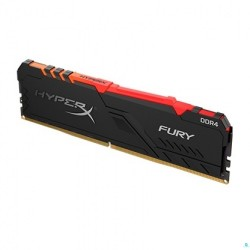 MEMORIA DDR4 8GB KINGSTON 3200MHZ CL16 HYPERX FURY RGB