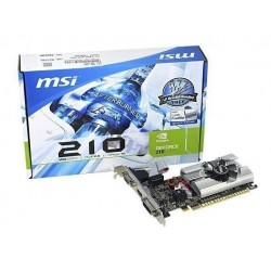 PLACA DE VIDEO 1GB G210 MSI DDR3 LP SINGLE SLOT