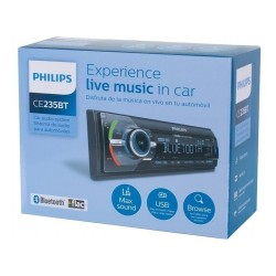 ESTEREO AUTO BLUETOOTH PHILIPS CE235BT/56 USB SD