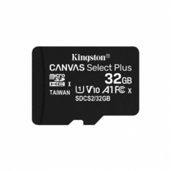 TARJETA MICROSDHC 32GB CANVAS SELECT PLUS CON ADAPTA KINGSTON