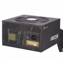 FUENTE SEASONIC 850 WATT REAL 80PLUS FOCUS GOLD