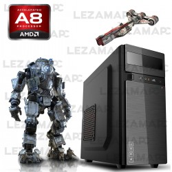 Pc Amd Cpu Quad Core Ati Radeon 8400 Hdmi Soporta 2 Monitor