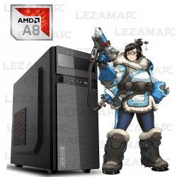 PC AMD A8 500GB 4GB