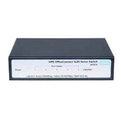 SWITCH 5P HPE OFFICECONNECT 1420-5G NO ADMIN (L)