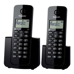 PANASONIC TELEFONO INALAMBRICO KY-TGB112AGB BLACK DUO