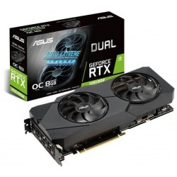 PLACA DE VIDEO ASUS DUAL RTX 2080S O8G EVO