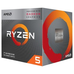 MICROPROCESADOR AMD RYZEN  3400G AM4 CON GRÁFICOS RADEON VEGA 11