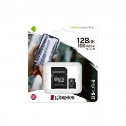 MEMORIA MICRO SD KINGSTON 128GB CLASE 10 100MBS