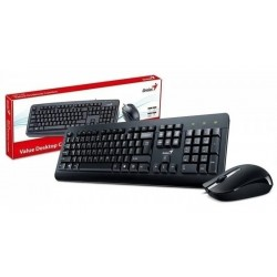 TECLADO + MOUSE GENIUS KM- 160 USB BLACK