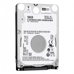 DISCO DURO HD 500 GB P/NB WESTERN DIGITAL 2.5 7MM