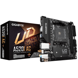 Mother GIGABYTE A520I AC ITX sAM4 DDR4