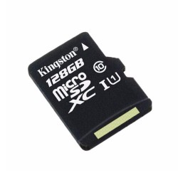 Memoria micro SD 128GB Clase 10 Kingston