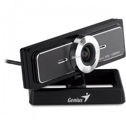 Web cam genius widecame f100 full hd 1080 microfono stereo