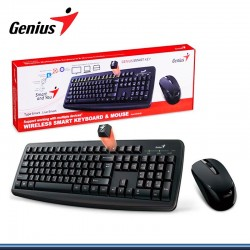 TECLADO+MOUSE GENIUS WIRELESS KM-8100 SMART BLACK