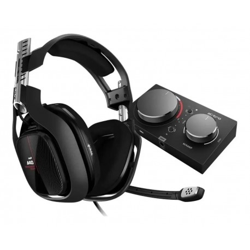 Auricular c/mic Astro A40 Black +MixAmp Pro XBX