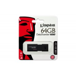 PENDRIVE KINGSTON DT100 64GB
