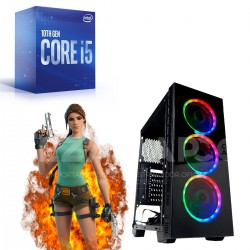 PC INTEL CORE I5 10400F 10MA 8GB DDR4 SSD 120GB WIFI GAB GAMER