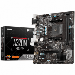 Motherboard (AM4) MSI A320M PRO-VH