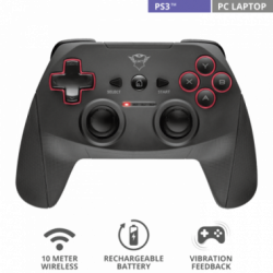 Joystick GXT545 Yula para PC y Ps3 TRUST inalambrico
