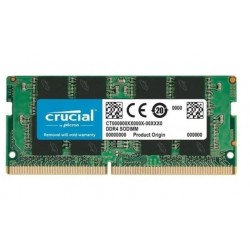 MEMORIA RAM CRUCIAL  SODIMM 8GB DDR4 2666MHZ