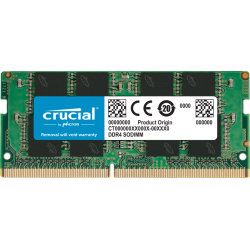 MEMORIA RAM CRUCIAL SODIMM DDR4 4GB 2666MHZ