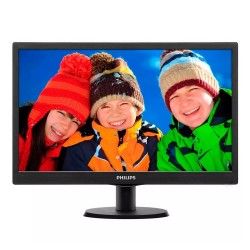 "MONITOR PHILIPS 18.5"" 193V5LSB2 HD VGA LED"